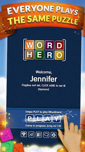 WordHero best word finding puzzle game v13.5.0 screenshots 2