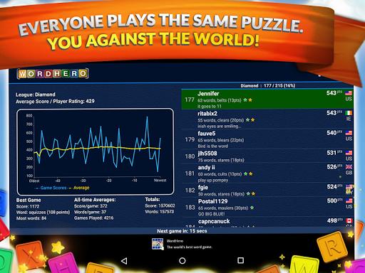 WordHero best word finding puzzle game v13.5.0 screenshots 9