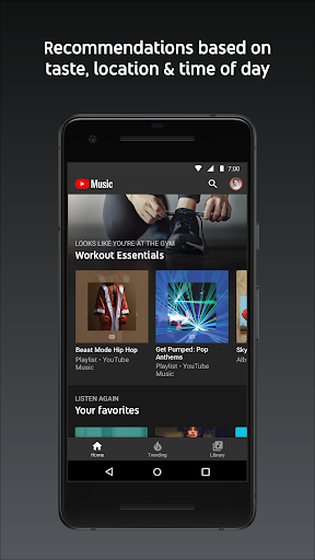 YouTube Music – Stream Songs amp Music Videos v4.28.52 screenshots 2