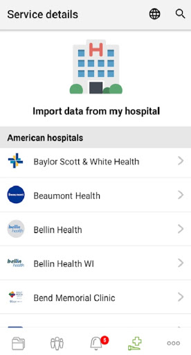 Your Personal Medical Health Record App Andaman7 v3.7.15 screenshots 4
