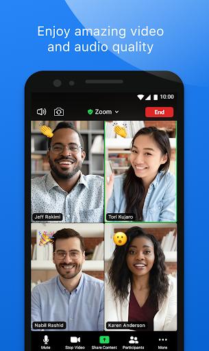 ZOOM Cloud Meetings v5.6.6.2076 screenshots 2