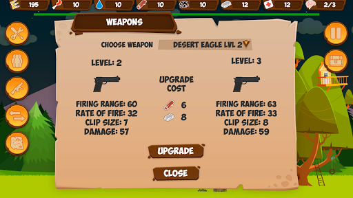 Zombie Forest HD Survival v1.36 screenshots 3