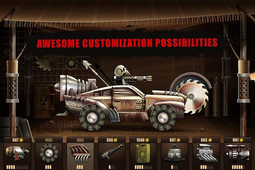 Zombie Hill Racing – Earn To Climb Zombie Games v1.7.5 screenshots 1