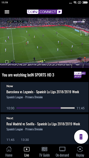 beIN CONNECT v9.5.2 screenshots 2