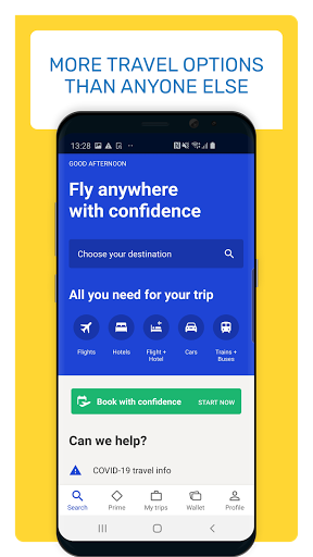eDreams Book cheap flights and travel deals v4.278.0 screenshots 2