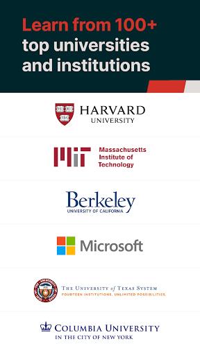 edX Online Courses by Harvard MIT Berkeley IBM v2.24.3 screenshots 1