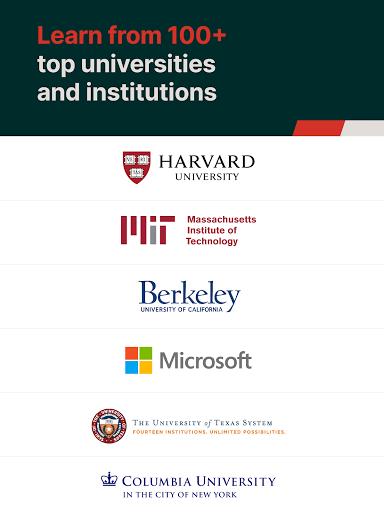 edX Online Courses by Harvard MIT Berkeley IBM v2.24.3 screenshots 11