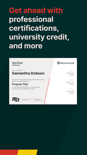 edX Online Courses by Harvard MIT Berkeley IBM v2.24.3 screenshots 4