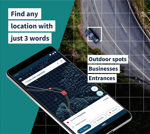 what3words Never get lost again v4.8.3 screenshots 1