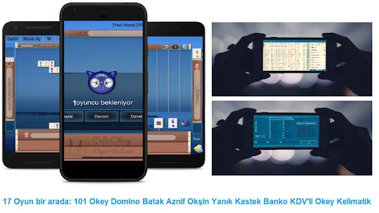 101 Okey Domino batak hakkarim.net yzbir ve okin v2.1.8 screenshots 1