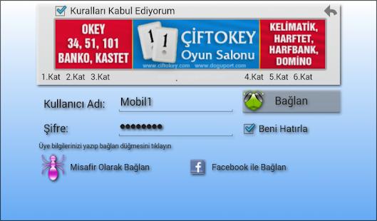 101 Okey Domino batak hakkarim.net yzbir ve okin v2.1.8 screenshots 10