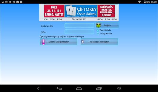 101 Okey Domino batak hakkarim.net yzbir ve okin v2.1.8 screenshots 11