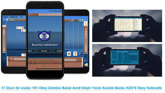 101 Okey Domino batak hakkarim.net yzbir ve okin v2.1.8 screenshots 13
