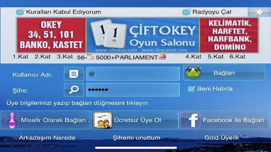 101 Okey Domino batak hakkarim.net yzbir ve okin v2.1.8 screenshots 14