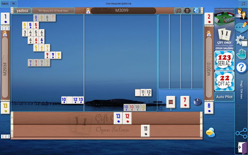 101 Okey Domino batak hakkarim.net yzbir ve okin v2.1.8 screenshots 17