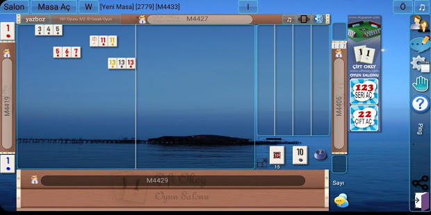 101 Okey Domino batak hakkarim.net yzbir ve okin v2.1.8 screenshots 5