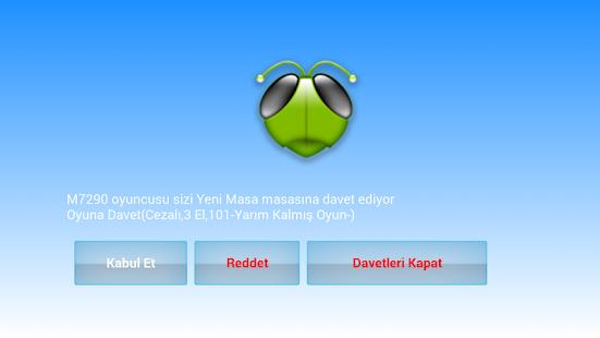 101 Okey Domino batak hakkarim.net yzbir ve okin v2.1.8 screenshots 7