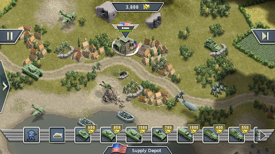 1944 Burning Bridges – a WW2 Strategy War Game v1.5.3 screenshots 12