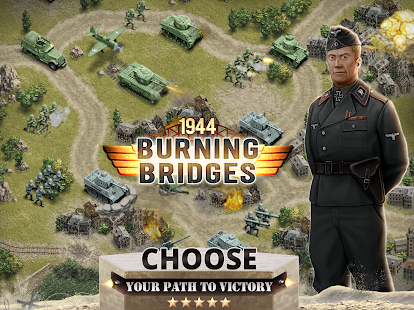 1944 Burning Bridges – a WW2 Strategy War Game v1.5.3 screenshots 17