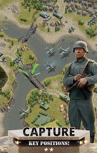 1944 Burning Bridges – a WW2 Strategy War Game v1.5.3 screenshots 2
