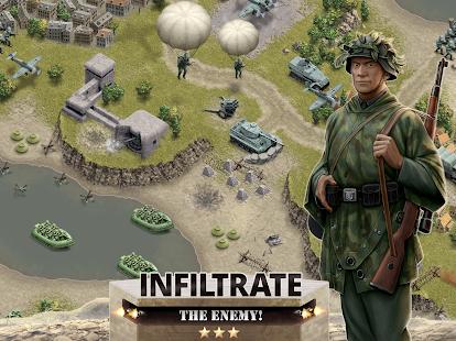 1944 Burning Bridges – a WW2 Strategy War Game v1.5.3 screenshots 9
