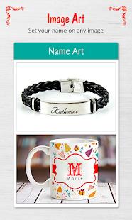 3D Art Create it Name Pics Sign v1.9 screenshots 4