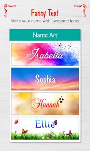 3D Art Create it Name Pics Sign v1.9 screenshots 6