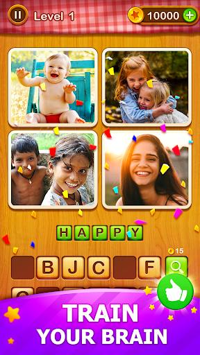 4 Pics Guess 1 Word – Word Games Puzzle v3.3 screenshots 2
