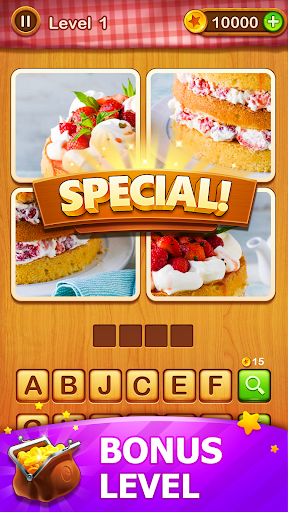 4 Pics Guess 1 Word – Word Games Puzzle v3.3 screenshots 4