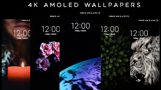 4K AMOLED Wallpapers – Live Wallpaper Changer v1.6.5 screenshots 12