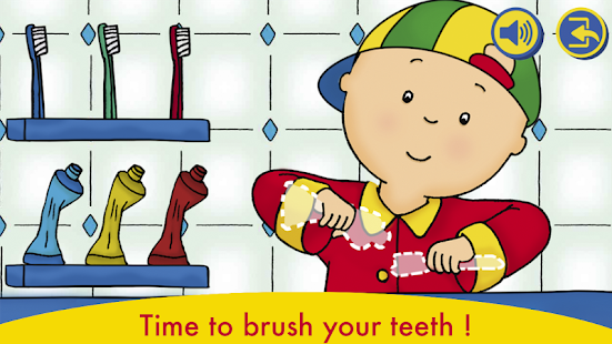 A Day with Caillou v screenshots 1