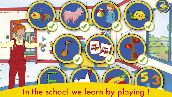 A Day with Caillou v screenshots 11