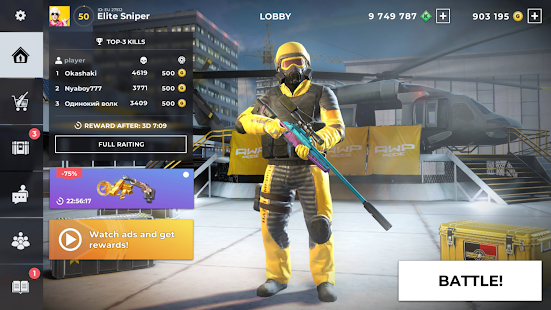 AWP Mode Elite online 3D sniper action v1.8.0 screenshots 15