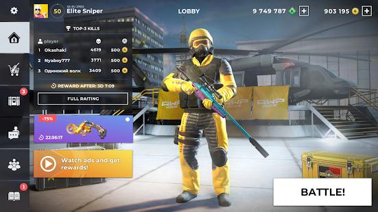 AWP Mode Elite online 3D sniper action v1.8.0 screenshots 23