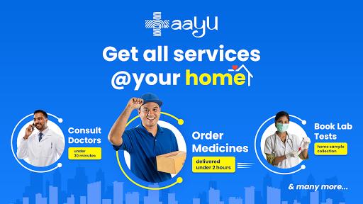 Aayu Online medicines Store Consult Doctor Online v4.8.0 screenshots 1