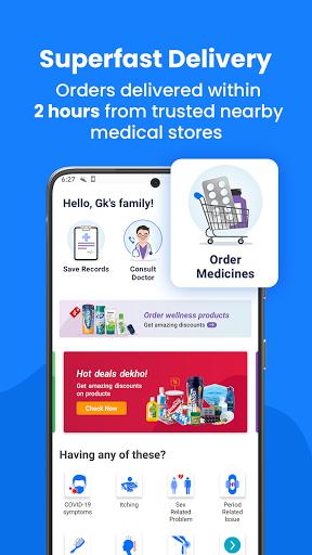 Aayu Online medicines Store Consult Doctor Online v4.8.0 screenshots 2