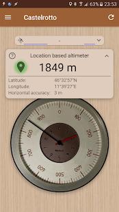 Accurate Altimeter v2.2.33 screenshots 1