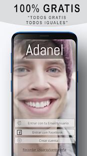Adanel chat gay para ligar y buscar citas gratis v2.2.7 screenshots 1