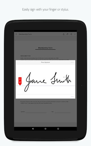 Adobe Fill amp Sign Easy PDF Doc amp Form Filler. v screenshots 9