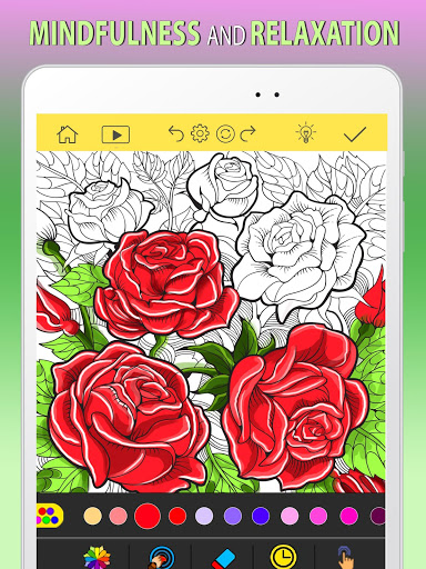 Adult Coloring Book Free 2020 by ColorWolf v622 screenshots 4