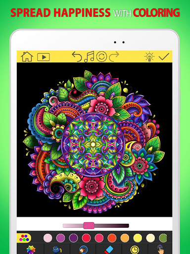 Adult Coloring Book Free 2020 by ColorWolf v622 screenshots 5