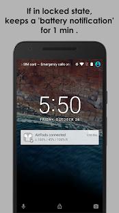 AirBuds Popup Free – airpod battery app v screenshots 2