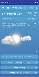 All Clear Weather v2.2.1 screenshots 1