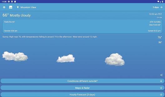 All Clear Weather v2.2.1 screenshots 10