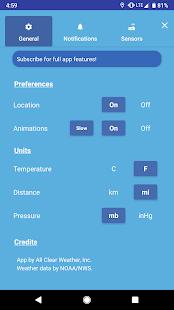 All Clear Weather v2.2.1 screenshots 7