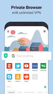 Aloha Browser Turbo – private browser free VPN v3.5.1 screenshots 1