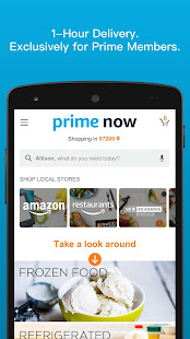 Amazon Prime Now v4.22.3 screenshots 1