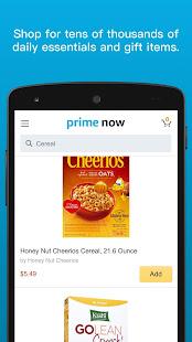 Amazon Prime Now v4.22.3 screenshots 2