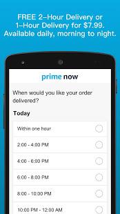Amazon Prime Now v4.22.3 screenshots 3