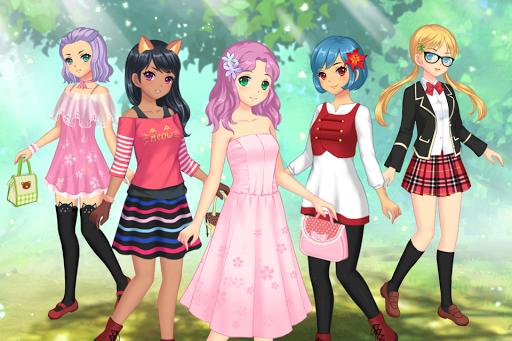 Anime Dress Up – Games For Girls v1.1.9 screenshots 1